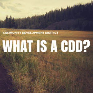 Community Development District, What is a CDD?